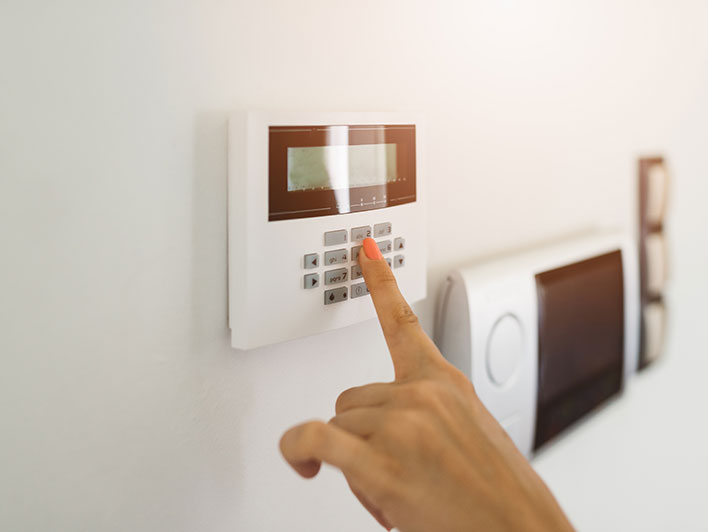 Commercial/office Alarm system install setup Chicago