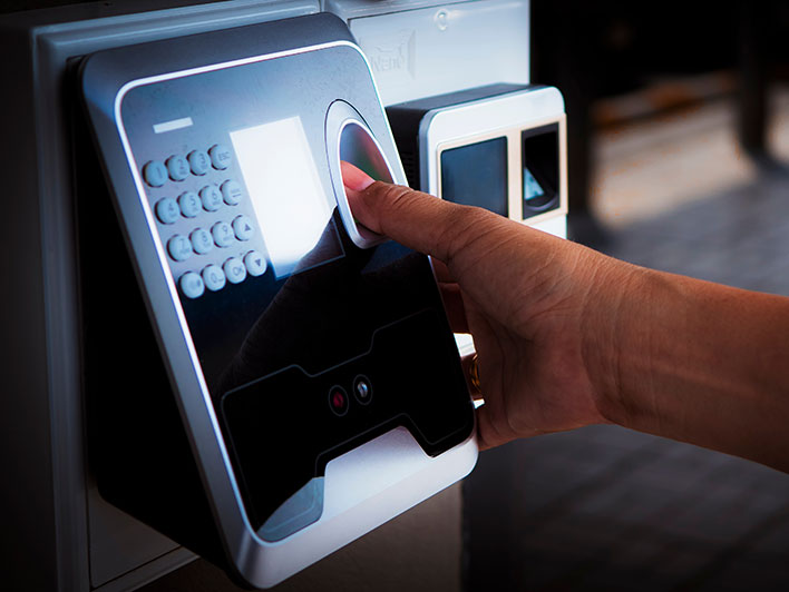 Biometric access control system installers
