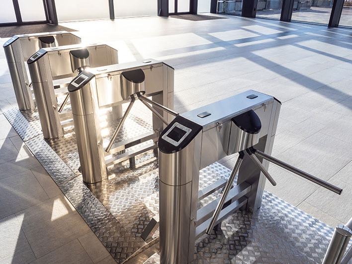 Commercial/turnstile access control system installers-Chicago